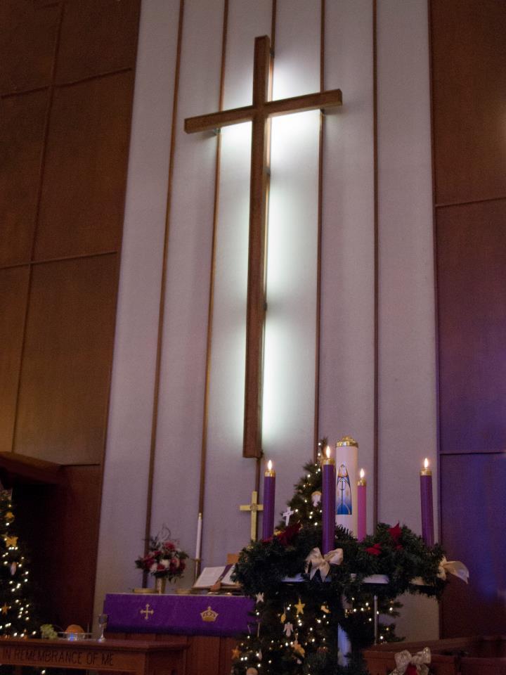 xmas altar2